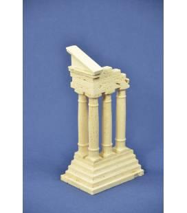 """ricostruzione rovine in marmo """"Castore e Polluce"""""""