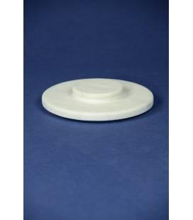 Coperchio in marmo bianco Carrara per mortaio diametro 20 cm