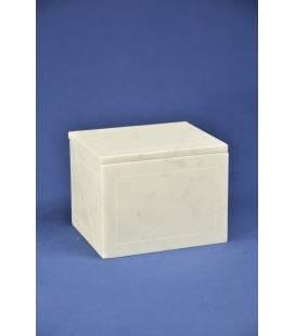 Vaschetta per lardo in marmo bianco di Carrara