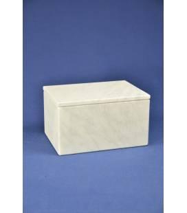 Vaschettaper il lardo in marmo bianco di Carrara, grande
