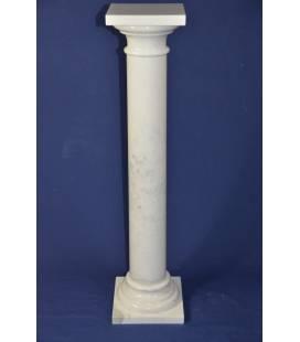 Colonna in marmo Statuario