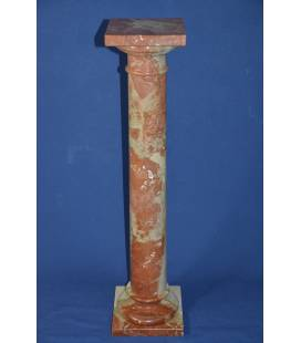 red Sicily marble column