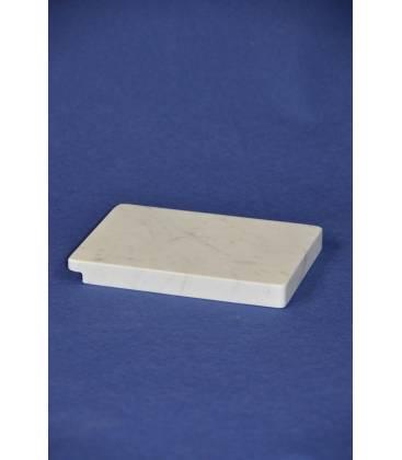 White Carrara marble cutting board