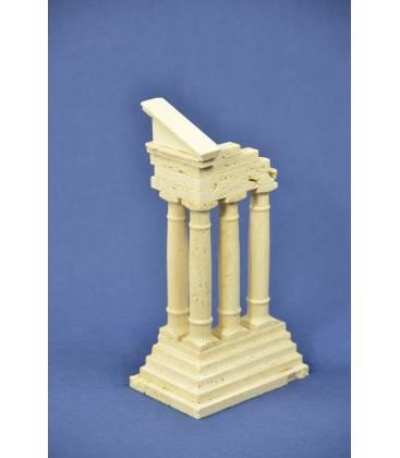 "Reconstruction of ""Castore e Polluce"" marble ruins"