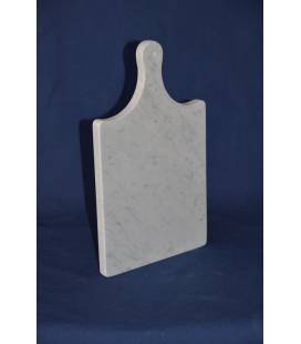 "White Carrara ""old style"" marble chopping board"
