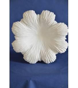 """Centrotavola """"Fiore"""" in marmo bianco di Carrara"""