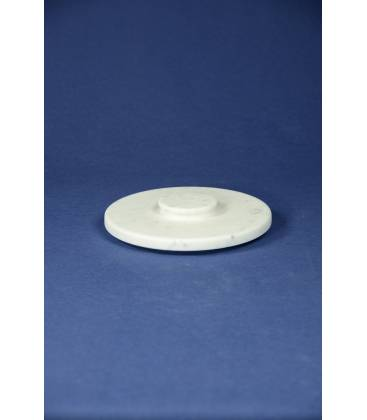 White Carrara marble lid for mortars diameter 22 cm