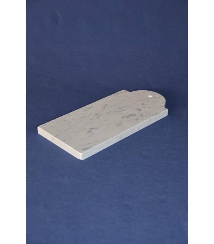 Tagliere marmo bianco carrara nuova marmotecnica for Tagliere in marmo