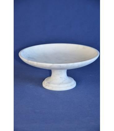 Portafrutta marmo bianco Carrara