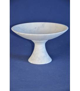 White Carrara marble fruit bowls