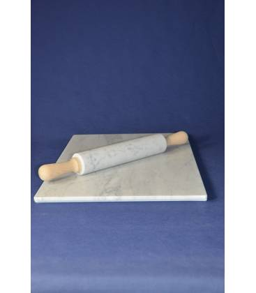 Piano da lavoro rettangolare con mattarello