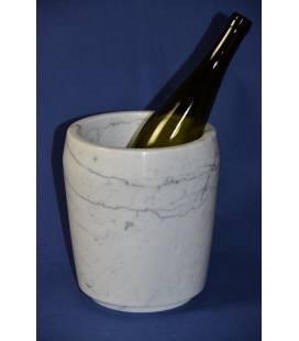 Porta ghiaccio in marmo bianco di Carrara