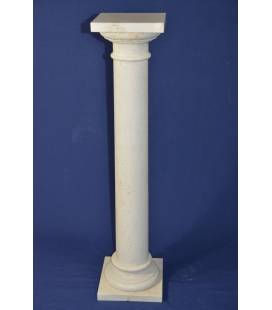 Travertine marble column