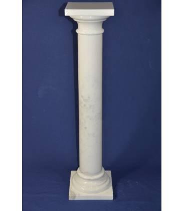 Statuary marble column