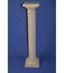 Dark Travertine marble column