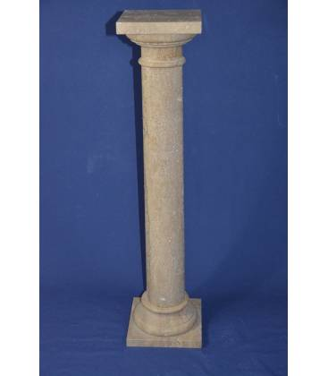 Dark Travertine column